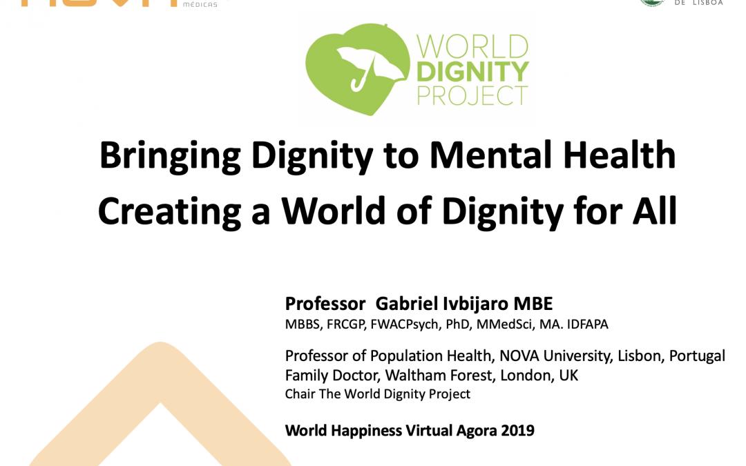 Bringing Dignity to Mental Health